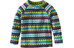Patagonia Babies Micro D Crew Shirt Diamond Stripe: Tailored Grey